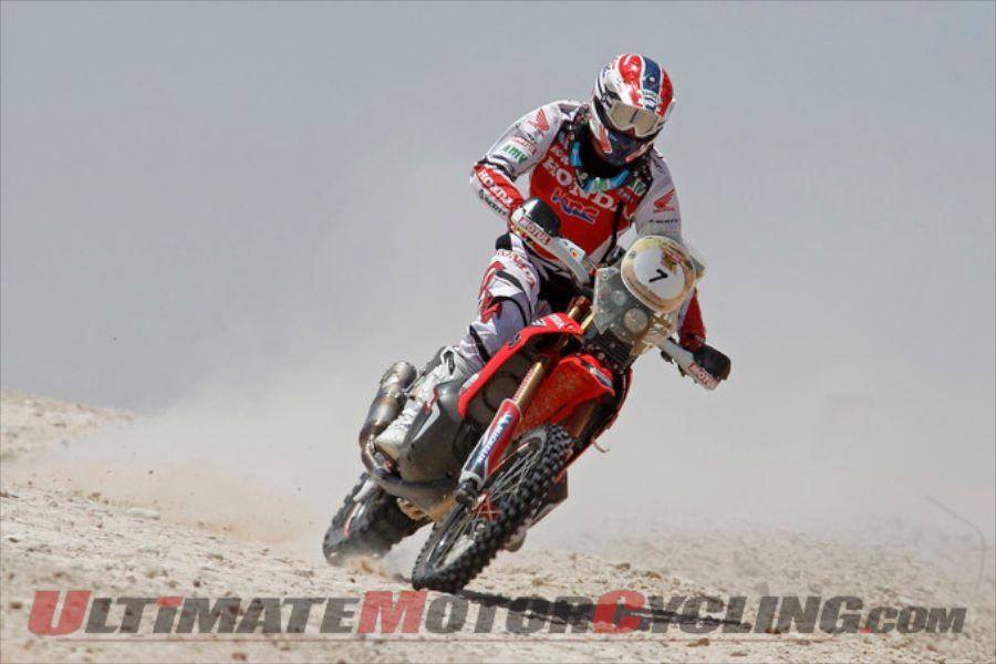 2014 Abu Dhabi Desert Challenge Stage 4 Results - Barreda Takes 2