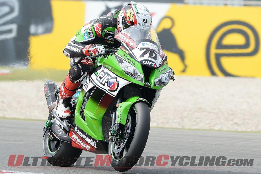 2014 Assen Superbike Superpole Results | Kawasaki's Baz Earns 1st Pole