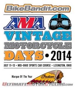AMA Vintage Motorcycle Days - BikeBandit.com Returns as Title Sponsor