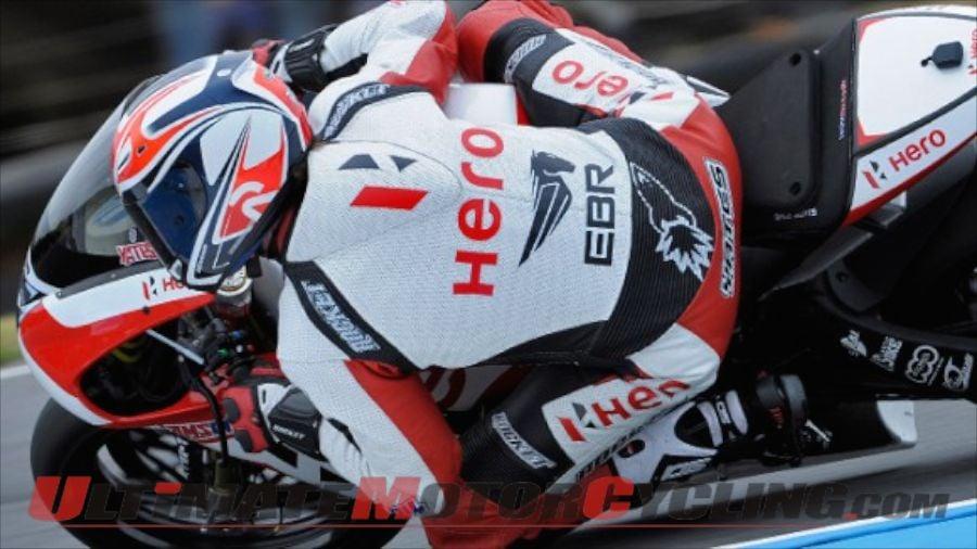Hero EBR Riders Yates & May Test 1190RX Ahead of Aragon World SBK