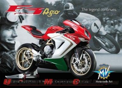 MV Agusta F3 800 AGO - A Limited-Edition Tribute to Giacomo Agostini