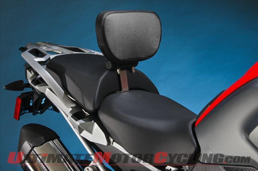 Sargent Releases 5-Way Adjustable Backrest for 2013+ BMW R1200GS