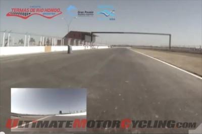 Argentina's Termas de Rio Hondo | POV MotoGP Video with Uncini