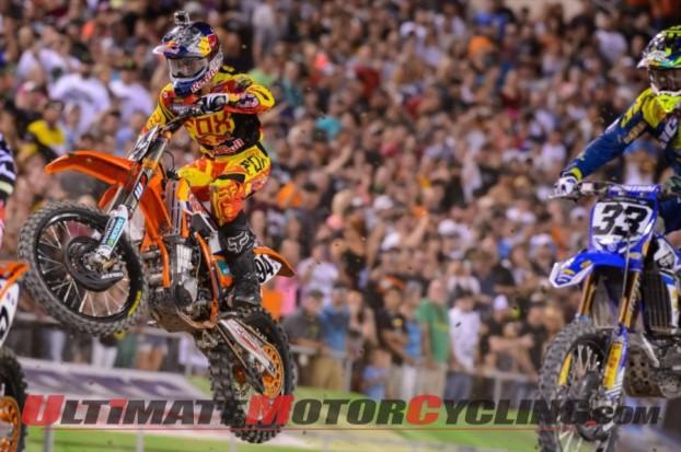 Ken Roczen and Josh Grant