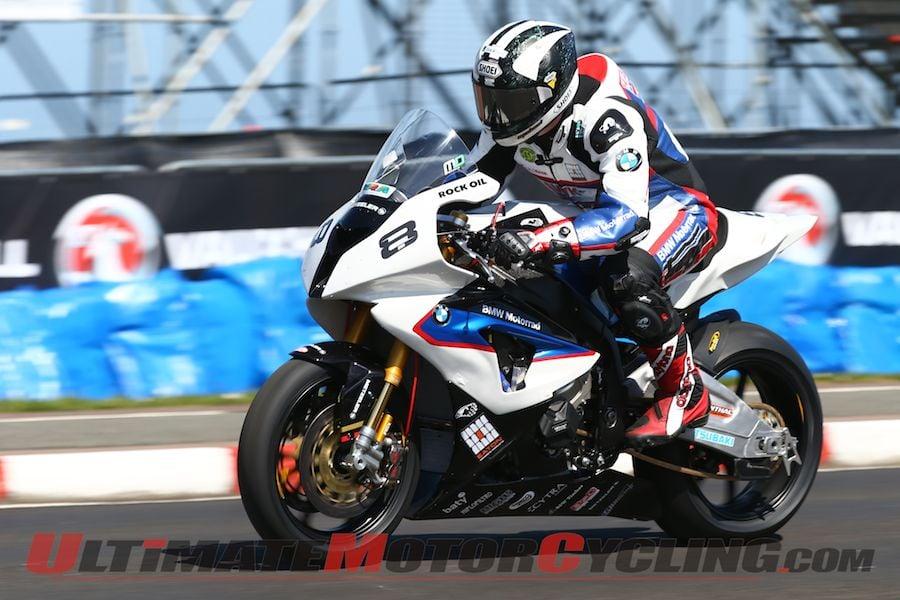 Michael Dunlop Begins North West 200 Aboard BMW S1000RR