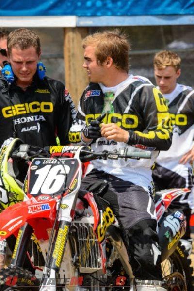 GEICO Honda's Zach Osborne Sidelined with Thumb Injury