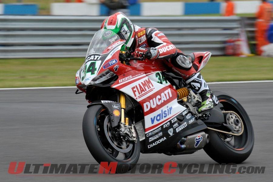 2014 Donington SBK Superpole Results | Ducati's Giugliano on Pole
