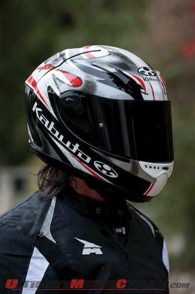 Kabuto FF-5V Review | Motorcycle Helmet Test