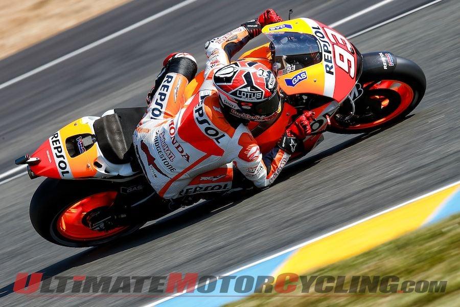 2014 Le Mans MotoGP Qualifying Results | Marquez 5 for 5