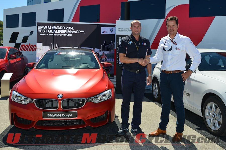 MotoGP Best Qualifier Award - BMW M4 Coupe