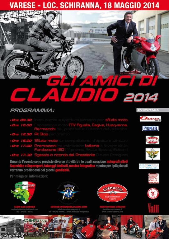 MV Agusta's 'Gli Amici Di Claudio' Event  - A Day Dedicated to Castiglioni