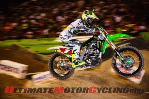 2014 Monster Energy AMA Supercross Champion Ryan Villopoto
