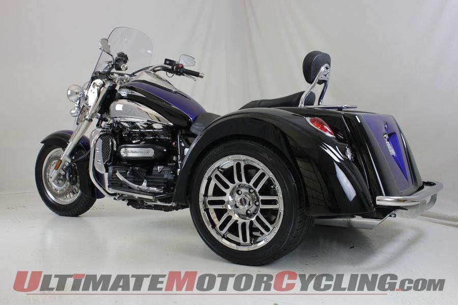 Motor Trike Announces Triumph Rocket III Trike
