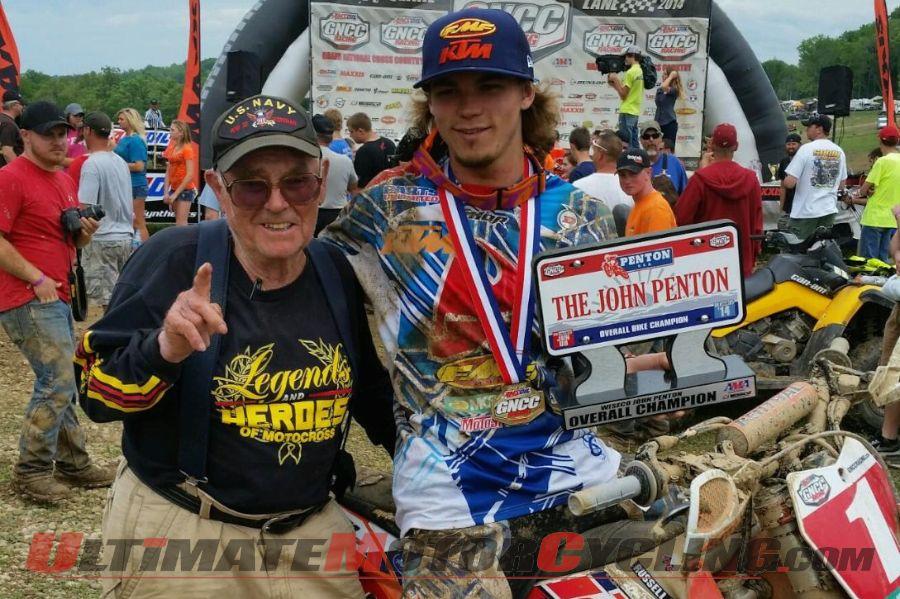 KTM's Kailub Russell Dominates John Penton GNCC Race