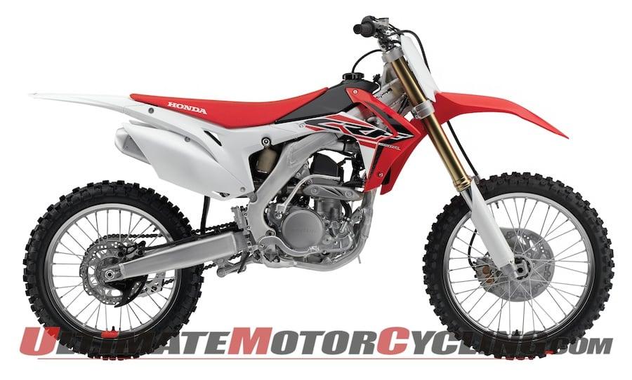 2015 Honda CRF250R Motocross Bike Released