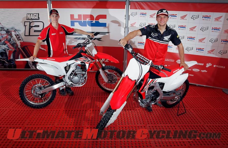 MXGP Riders Show 2015 Honda MXers