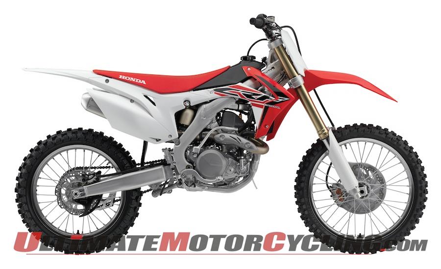 Honda Releases 2015 CRF450R Motocross Bike