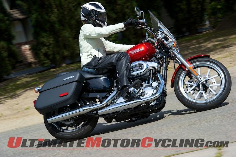 2014 Harley-Davidson Sportster SuperLow 1200T Test