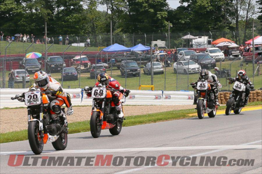 O'Hara Wins Mid-Ohio AMA Pro Vance & Hines Harley-Davidson Race