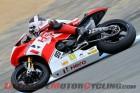 Ducati's Davies on Provisional Pole at Laguna Seca World Superbike