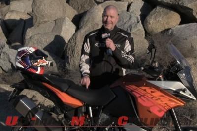 KTM 1190 Adventure Test on Greg's Garage   Video