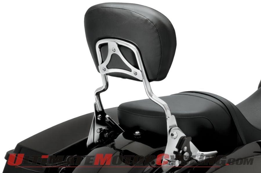 Harley-Davidson Reclining Passenger Backrest for 2009+ Tourers