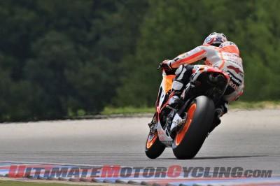 Honda's Marquez & Pedrosa Conclude 3-Day Brno MotoGP Test