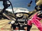 Riding Across America - Polish Female Treks USA Aboard Bonneville