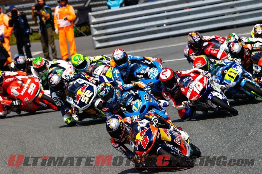 2014 Sachsenring Moto3 Results