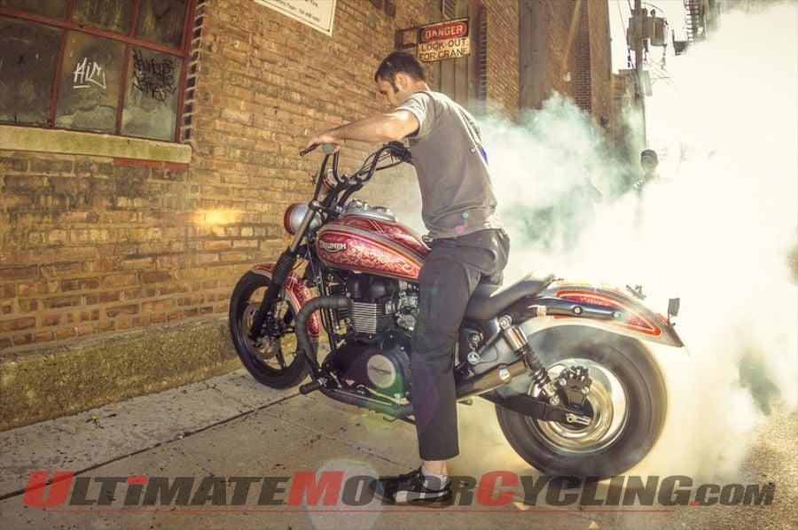 Motoworks Chicago's Triumph 'Calle Maton' Wins Iron Moto Challenge