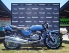 Winner of Best Vintage, 1972 Kawasaki H2 triple