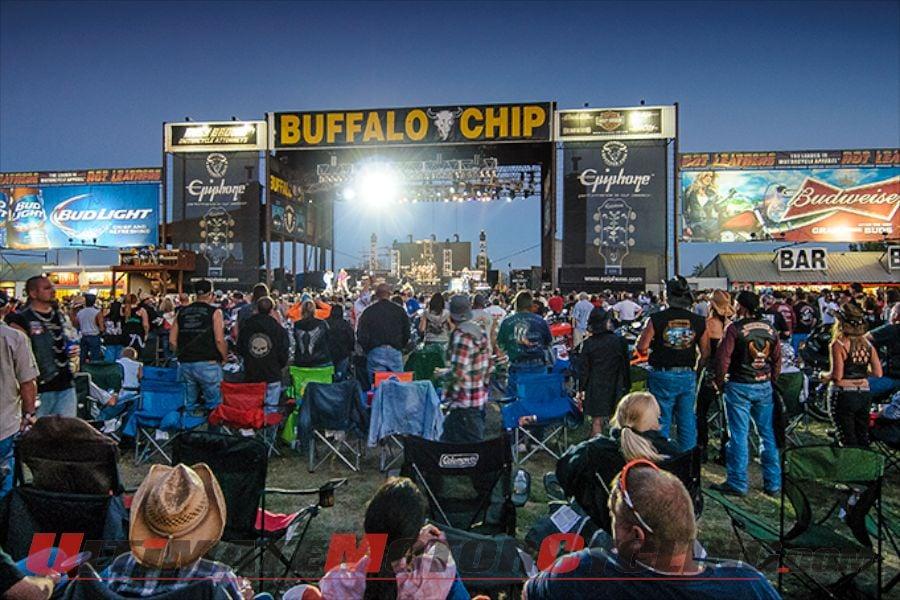 Sturgis: Free Beer at Opening Night of Music at Buffalo Chip