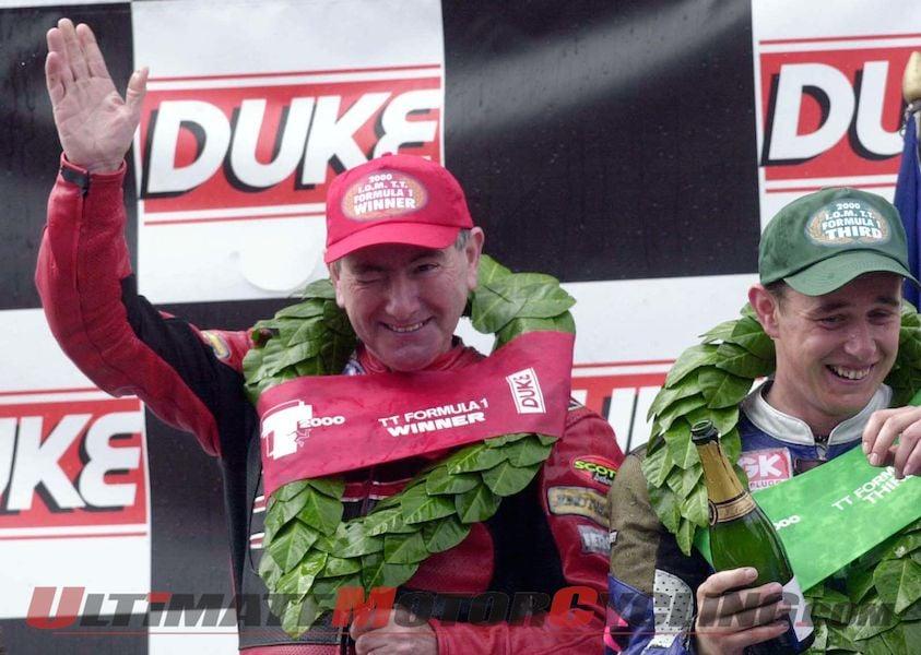2014 Classic TT Joey Dunlop Parade Lap Features Great Rivals