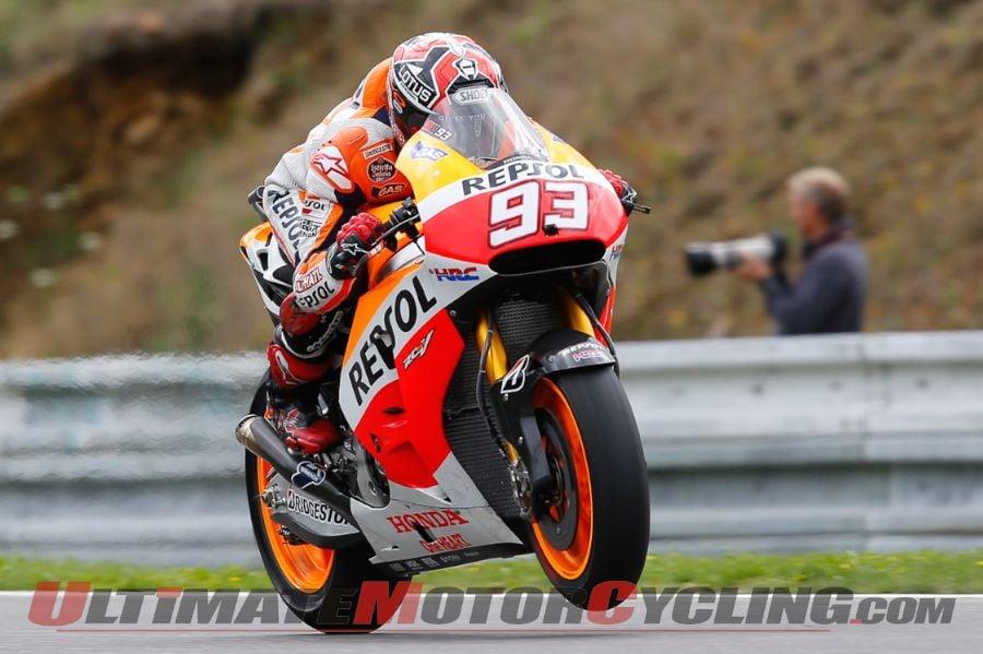 2014 Brno MotoGP Qualifying | Marquez on Pole Ahead of 2 Ducatis