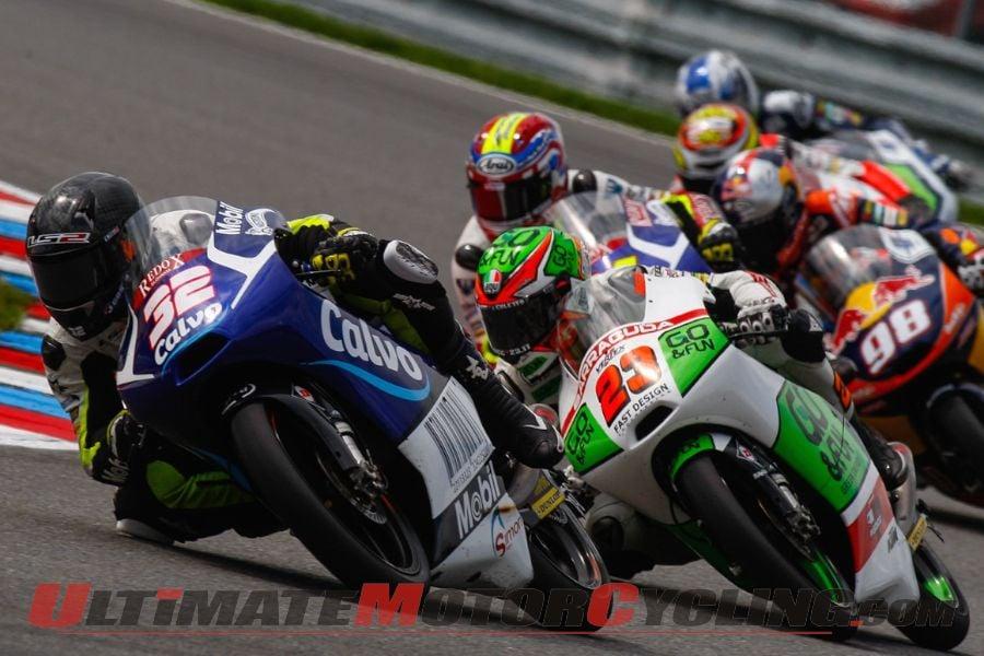 2014 Brno Moto3 Results