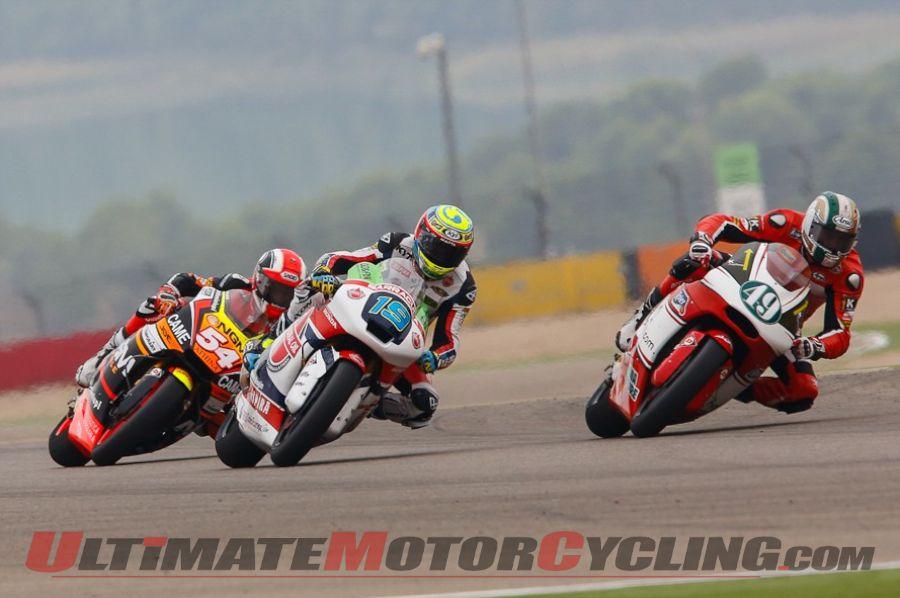 2014 Aragon Moto2 Results