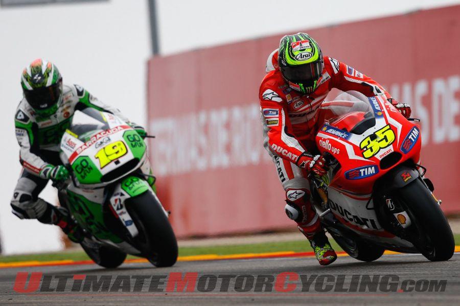 2014 Aragon MotoGP Results