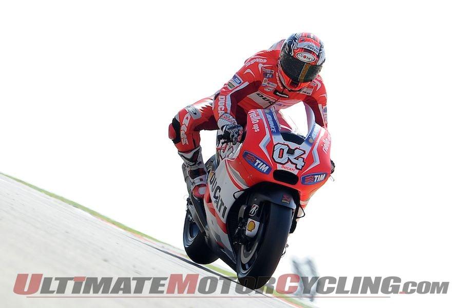 Ducati's Dovizioso Leads Friday Aragon MotoGP Practice