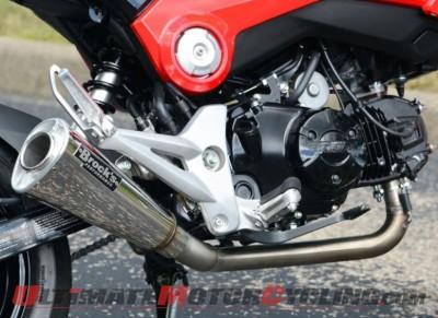 Brock's Releases Honda Grom Alien Head Full Exhaust System
