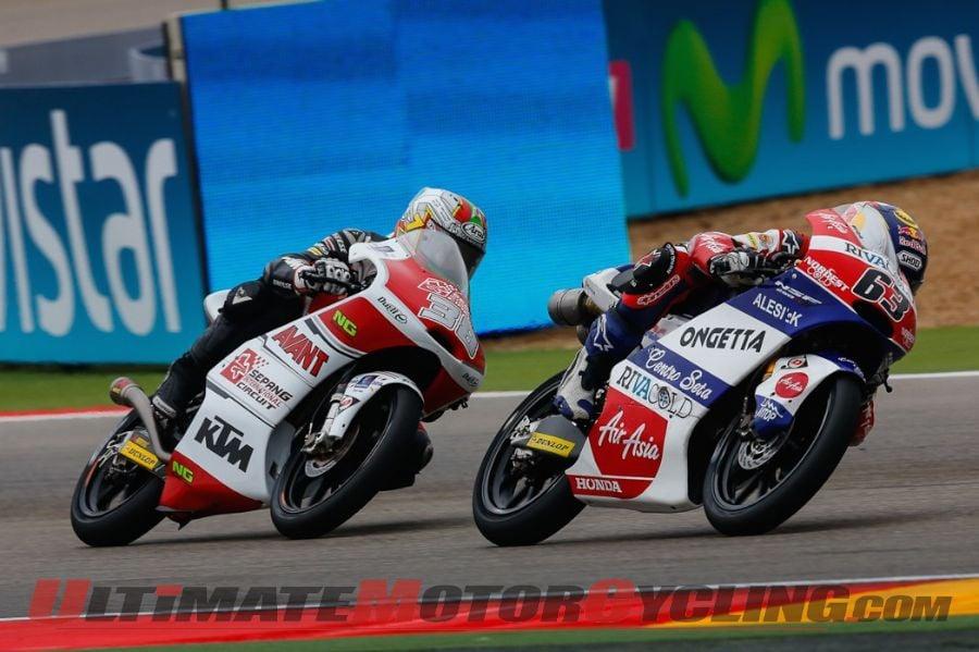 2014 Aragon Moto3 Results
