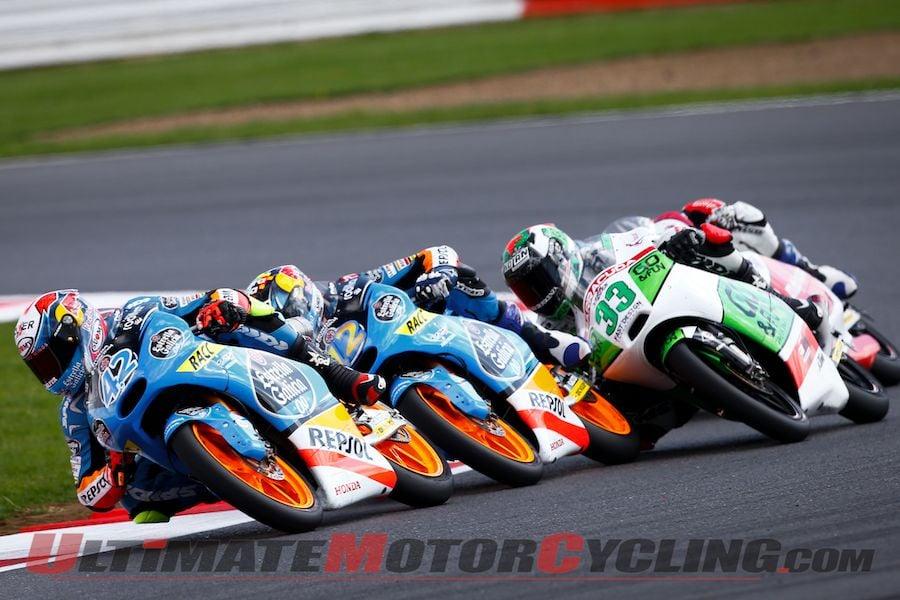 2014 Silverstone Moto3 Results & Recap