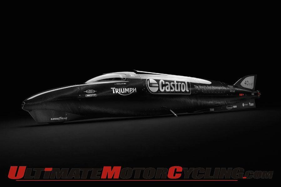 Triumph Castrol Rocket Seeks 400mph in Bonneville Shootout