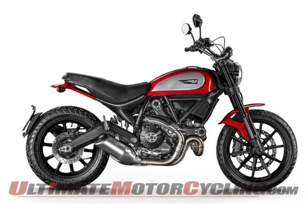 2015 Ducati Scrambler And Indian Scout