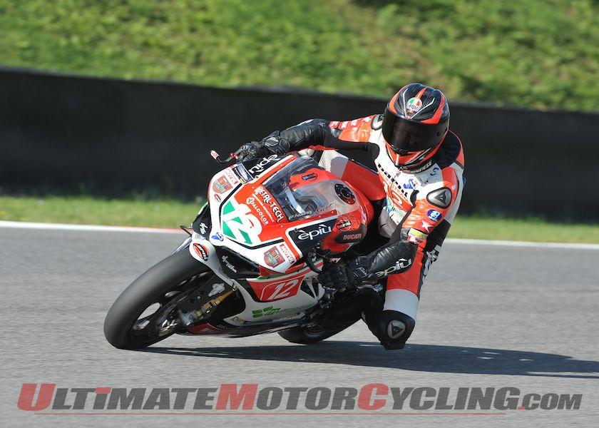 Ducati 1199 Panigale R Earns 2014 CIV Italian Superbike Title