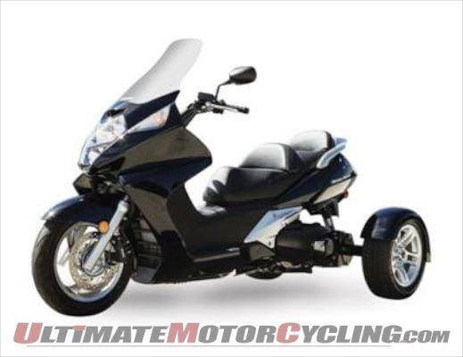 Motor Trike Releases Honda Silver Wing Trike Conversion