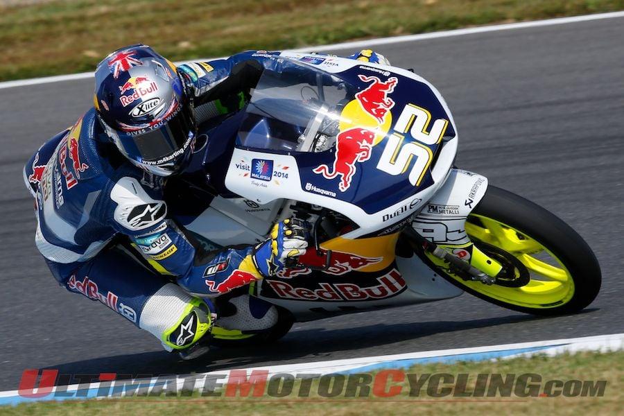2014 Motegi Moto3 Friday Practice | Kent on Record Pace