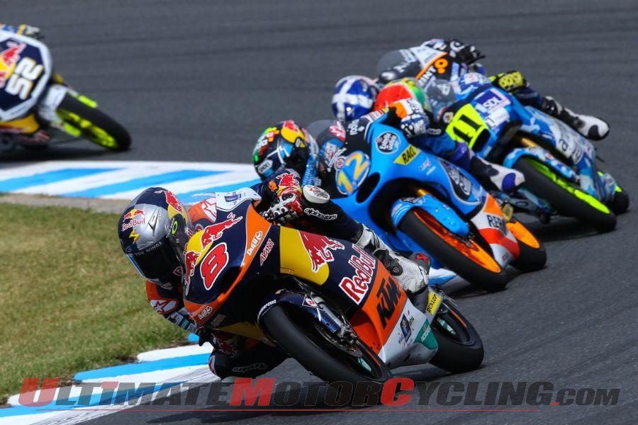 2014 Motegi Moto3 Results