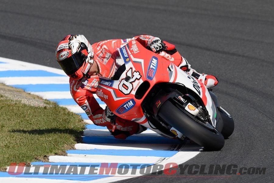 Motegi MotoGP Friday Practice: Ducati's Dovizioso Quickest