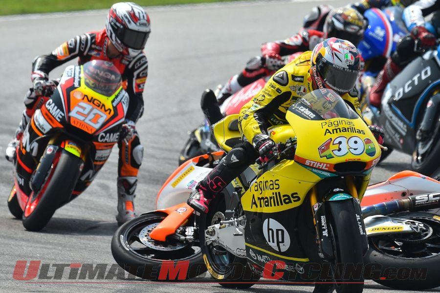 2014 Sepang Moto2 Results