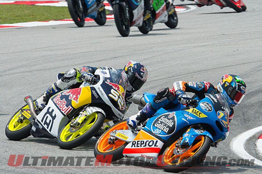 2014 Sepang Moto3 Results